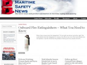 Maritime Safety News